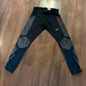 Nike Men's L reflective running tights